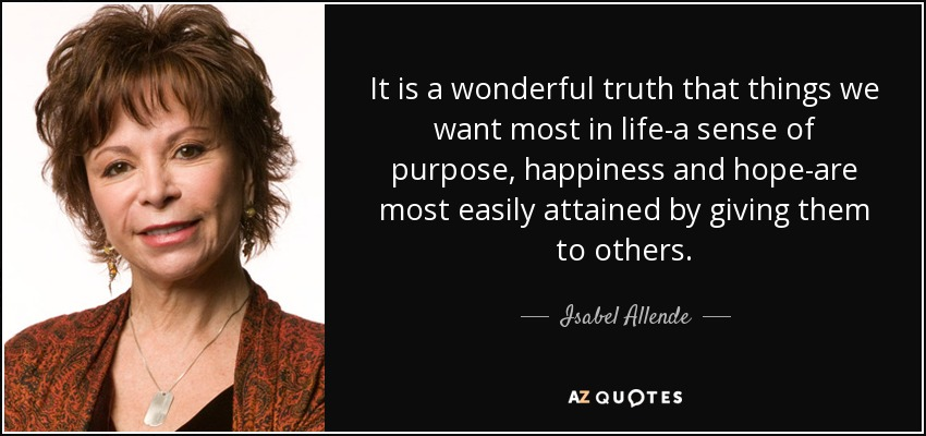 TOP 25 QUOTES BY ISABEL ALLENDE (of 322)