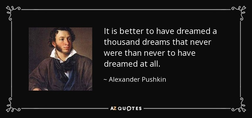 TOP 25 QUOTES BY ALEXANDER PUSHKIN | A-Z Quotes