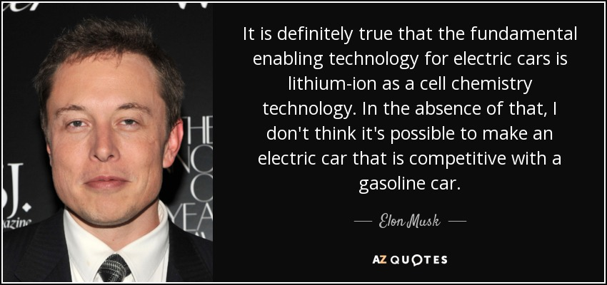 Elon Musk Quote It Is Definitely True That The Fundamental
