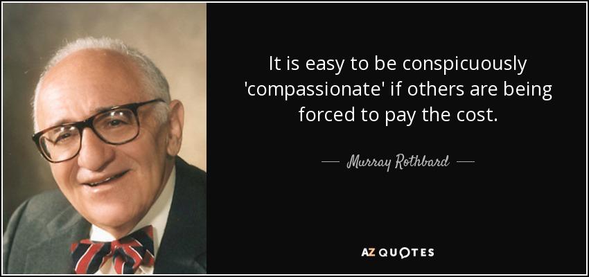 Murray Rothbard – The Burning Platform