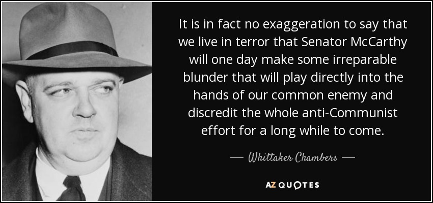 An introduction to the life of whittaker chambers a former communist