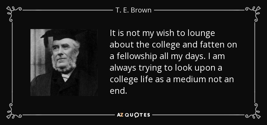 TOP 25 COLLEGE LIFE QUOTES | A-Z Quotes
