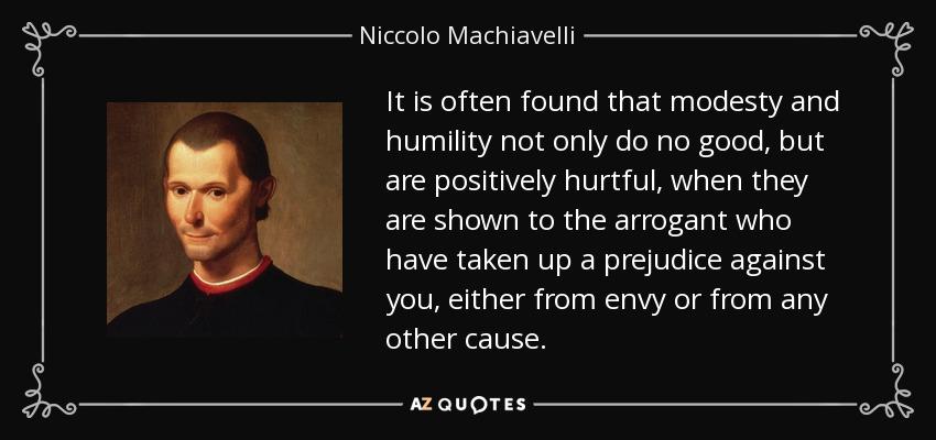 niccolo machiavelli thesis