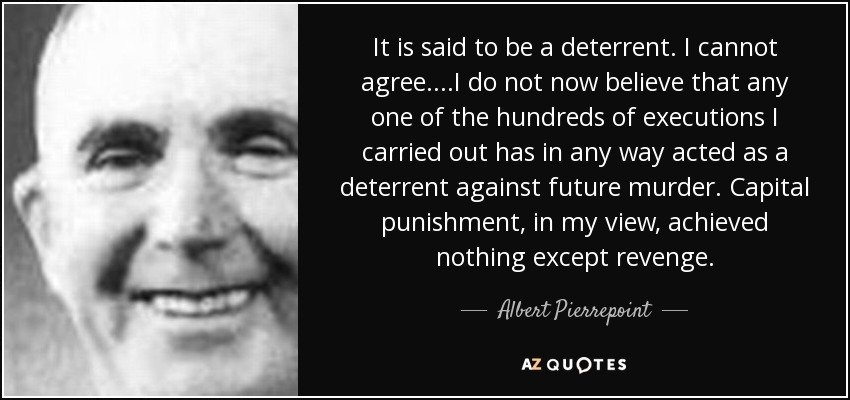 the positive view on capital punishment 47 quotes have been tagged as capital-punishment: jrr tolkien: 'many that  live  can't be negotiated that government doesn't give for good behavior and  doesn't take  in the human rights perspective, concretising the human rights of  the.