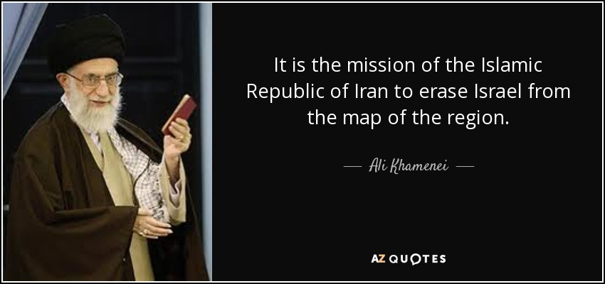 Image result for khamenei: quotes on israel