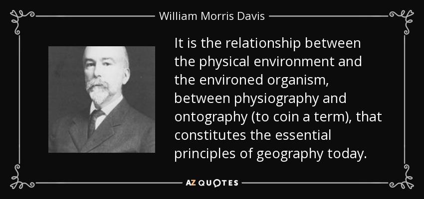 geographical essays william morris davis