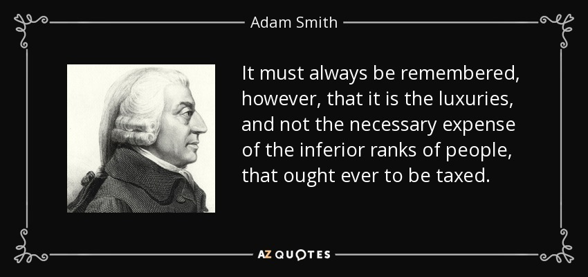 an analysis of adam smiths principle on the invisible hand on market