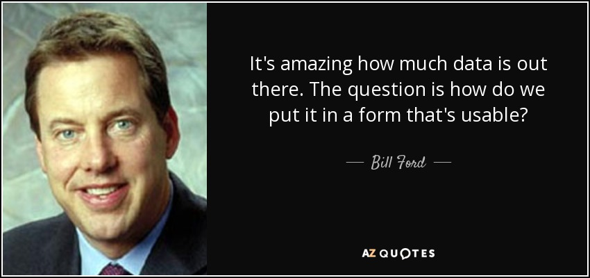 Ford Quote Prepossessing Top 20 Quotesbill Ford  Az Quotes