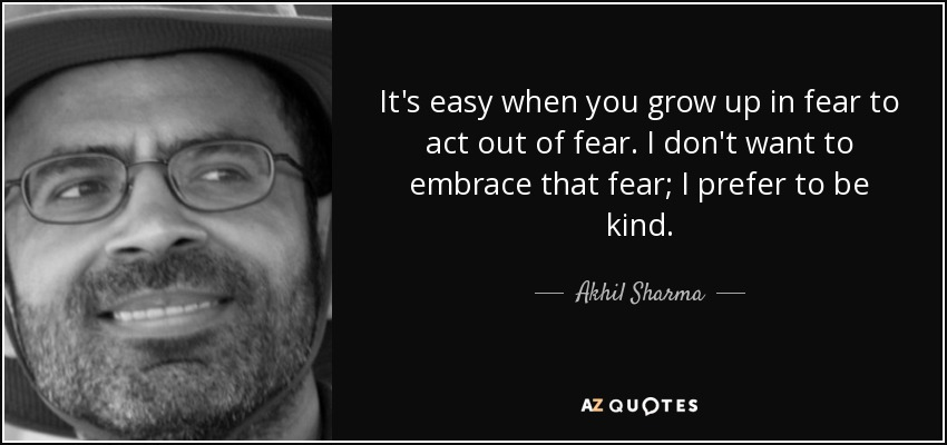TOP 25 QUOTES BY AKHIL SHARMA