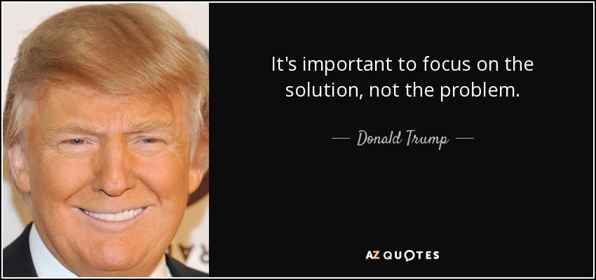 Focus Trump