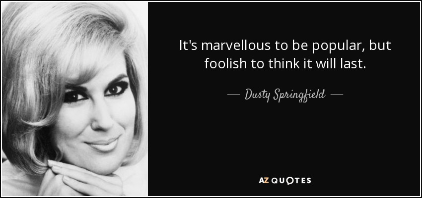 Dusty Springfield | Entanglements