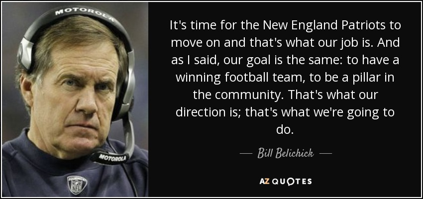 New England Quotes: TOP 13 NEW ENGLAND PATRIOTS QUOTES