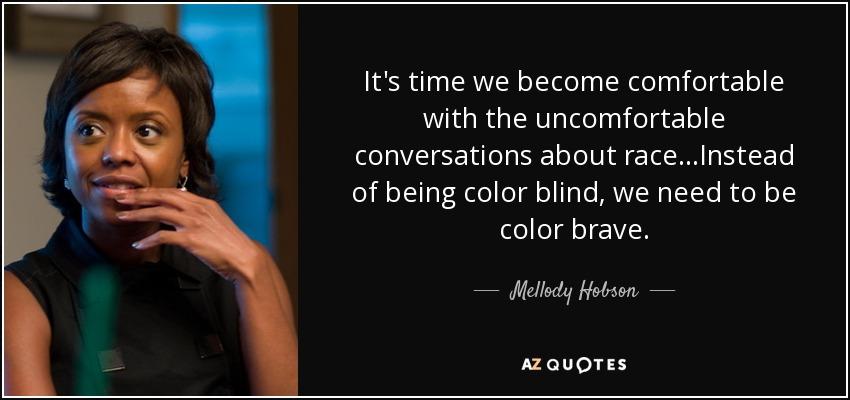 Essence Harrison Ted Talk Color Blind Or Color Brave