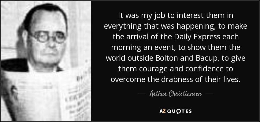 Arthur Christiansen Net Worth