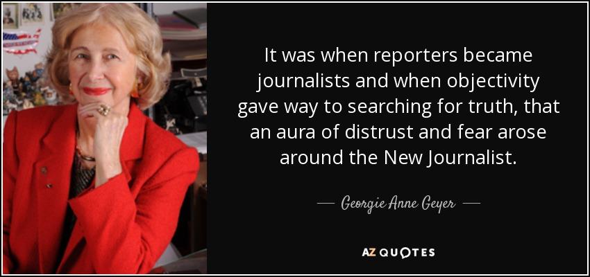 Georgie Anne Geyer Quote - Image Copyright AZQuotes.Com