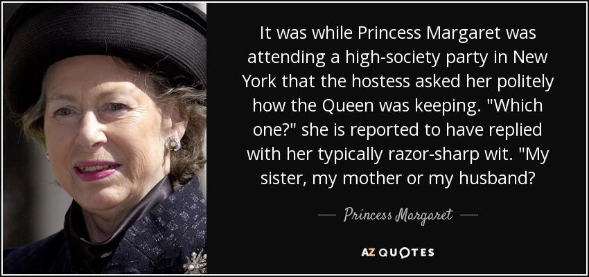 margaret queen sister