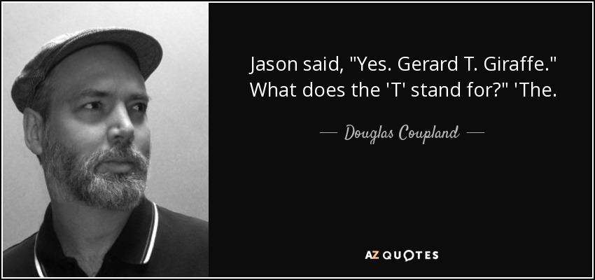 Jason said,