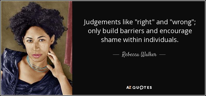 Judgements like