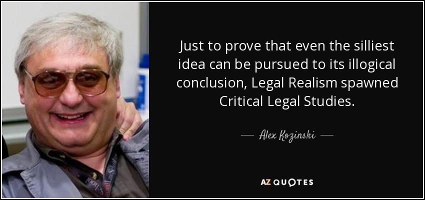 legal realism vs critical legal studies