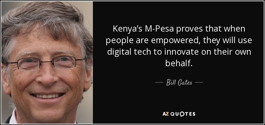 M-Pesa: l'application de transfert d'argent du Kenya qui a impressionné Bill Gates