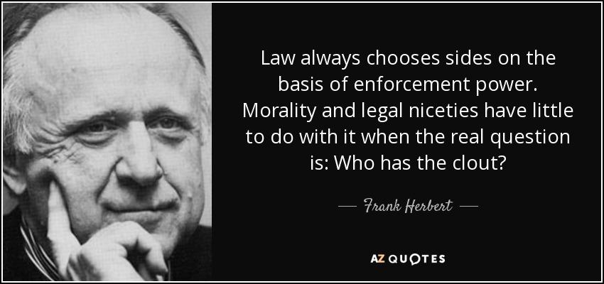 legal enforcement of morality