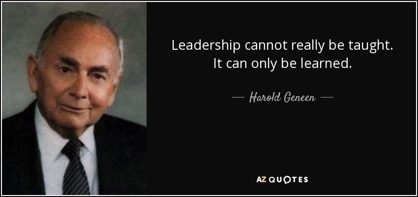 essay on leadership cannot be taught Can leadership be taught post written by gregory lestage gregory lestage in both scenarios, formal programs cannot serve as catalysts.