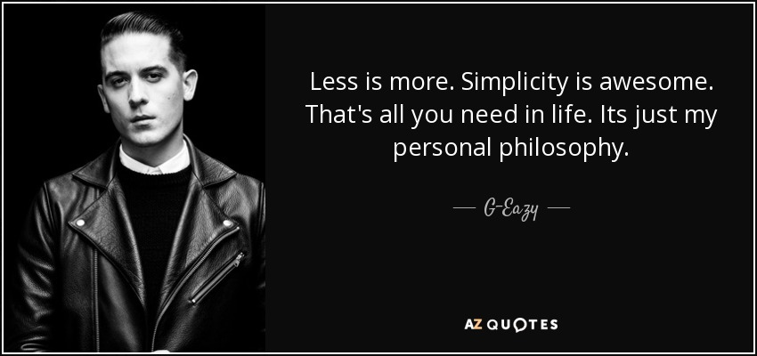 Eazy E Quotes About Love : TOP 25 QUOTES BY G-EAZY (of 62) A-Z Quotes