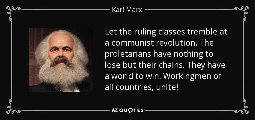 nothing to lose but their chains