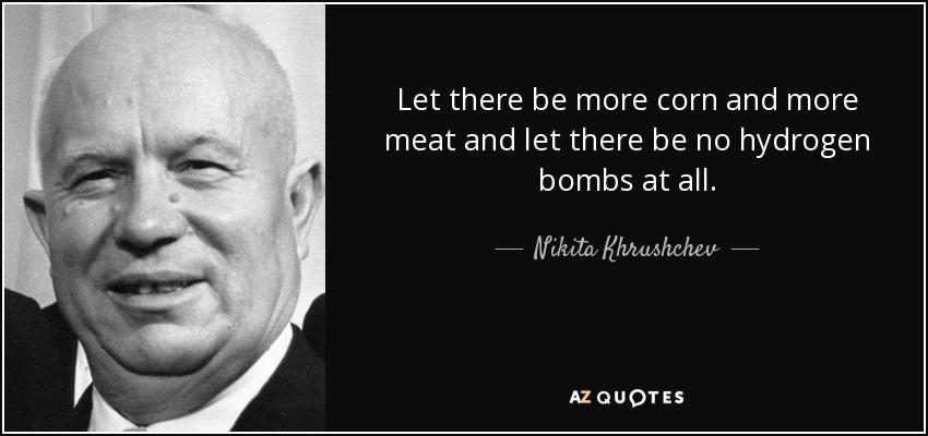 khrushchev and kennedy relationship poems