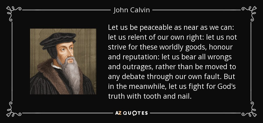 john calvin essay John calvin: john calvin, theologian and ecclesiastical statesman he was the leading french protestant reformer and the most important figure in the second generation of the protestant reformation.