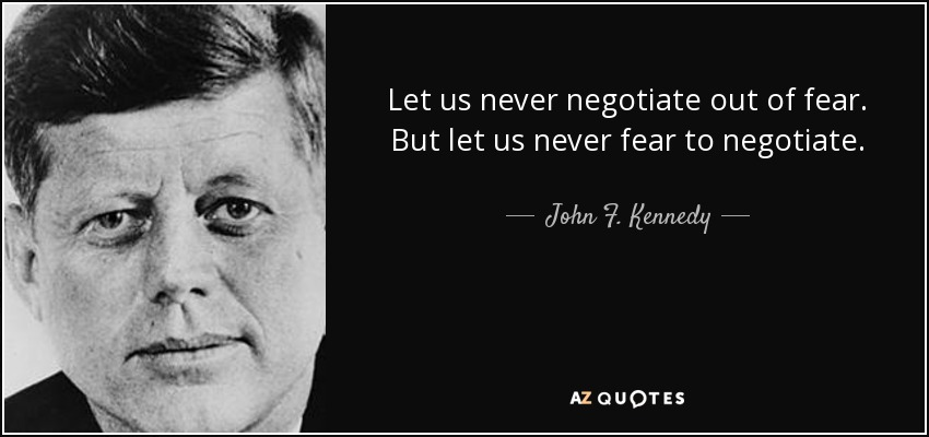 Top 25 Negotiation Quotes Of 450 A Z Quotes