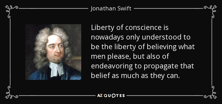 jonathan swift beliefs