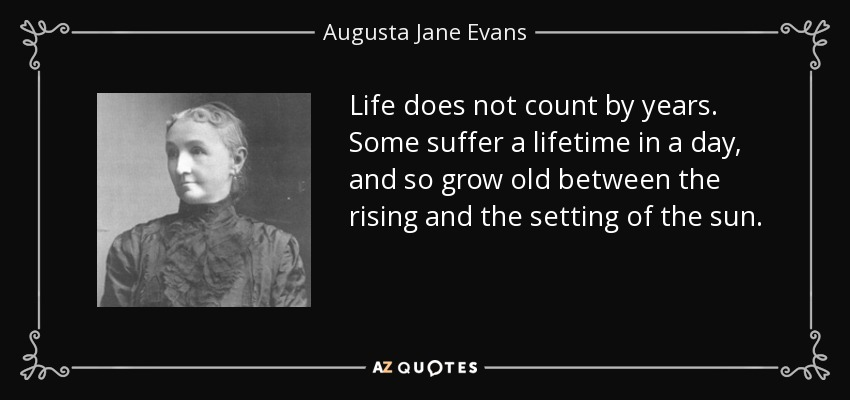 TOP 10 QUOTES BY AUGUSTA JANE EVANS | A-Z Quotes
