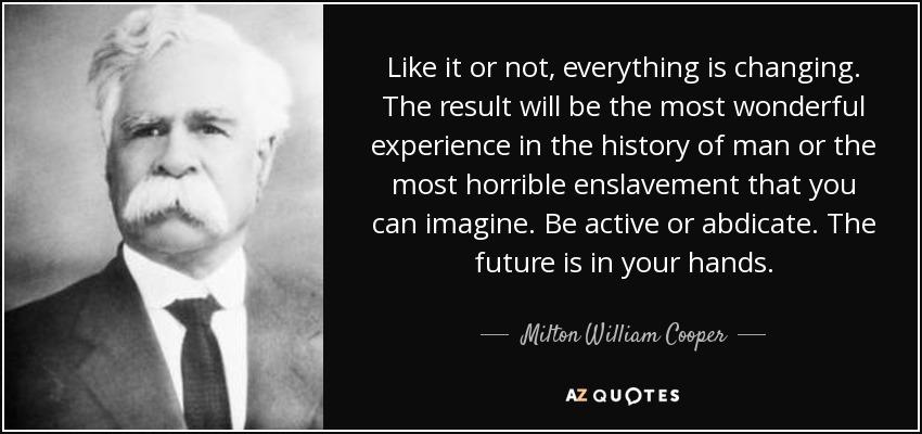 William Cooper Quotes