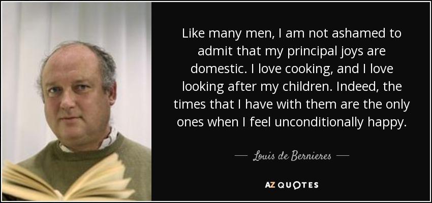 not ashamed to be men