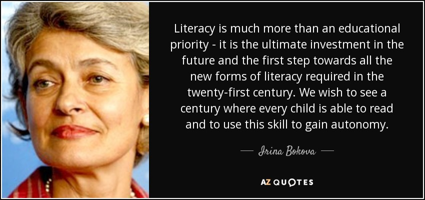 TOP 9 QUOTES BY IRINA BOKOVA | A-Z Quotes