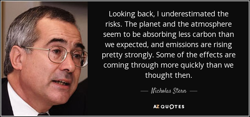 Top 25 Quotes By Nicholas Stern A Z Quotes