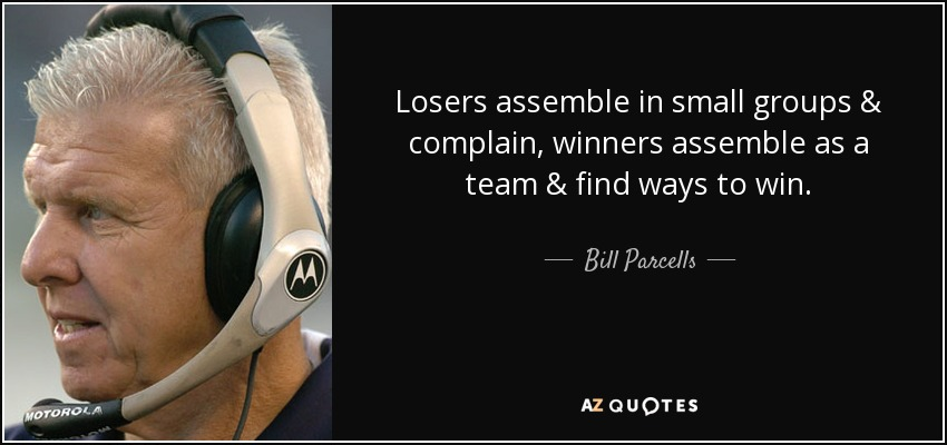 Top 25 Quotes By Bill Parcells Of 101 A Z Quotes