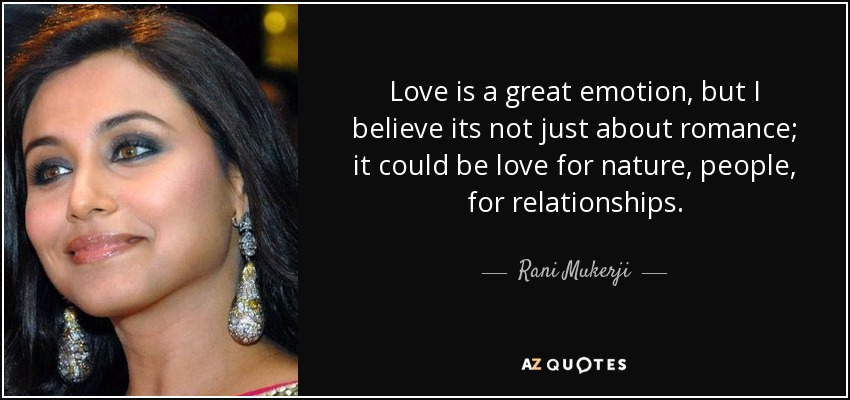 TOP 18 QUOTES BY RANI MUKERJI | A-Z Quotes