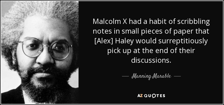 essay on malcolm x speech