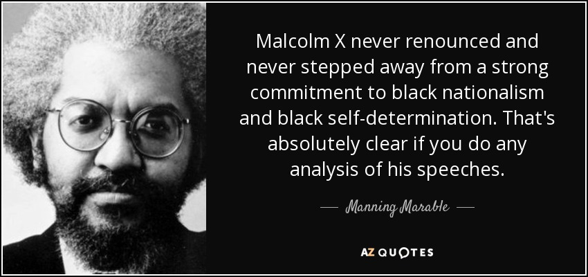 malcolm x speech analysis