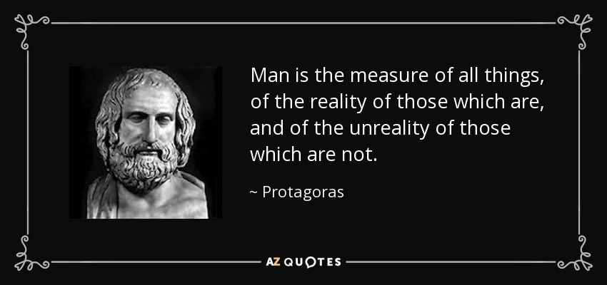 essay on protagoras