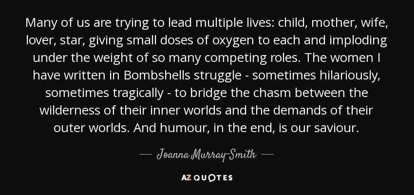 Bombshells joanna murray smith essays