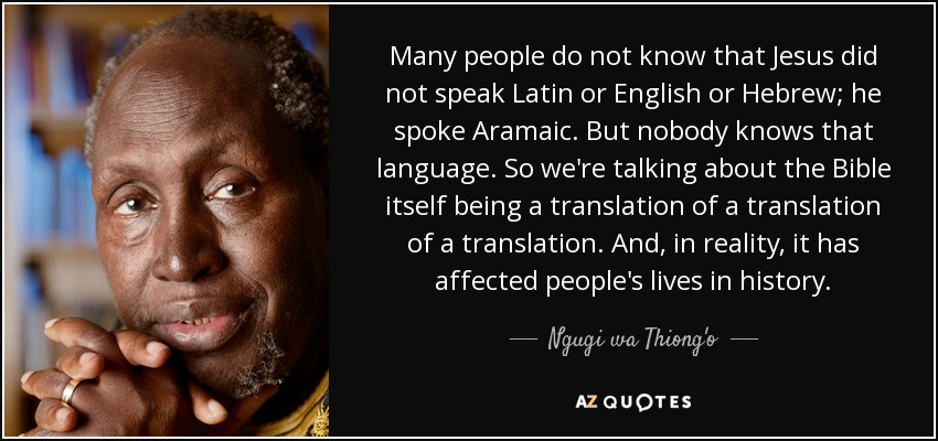 """a biography and life work of ngugi va tiongo a kenyan writer Ngugi wa thiong'o, a kenyan writer of gikuyu descent, began a very successful career writing in english before turning to work almost entirely in his native language, gikuyu in his 1986 decolonising the mind, his """"farewell to english,"""" ngugi describes language as a way people have not ."""