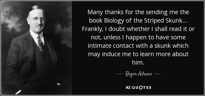 QUOTES BY ROGER ADAMS A-Z Quotes
