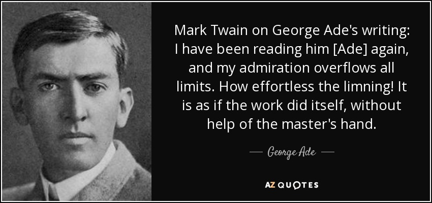 about bench mark twain biography essays