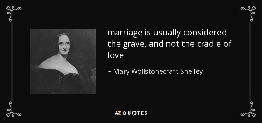 Image result for Mary Wollstonecraft quote about marriage