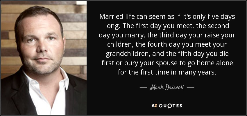 First Day Married