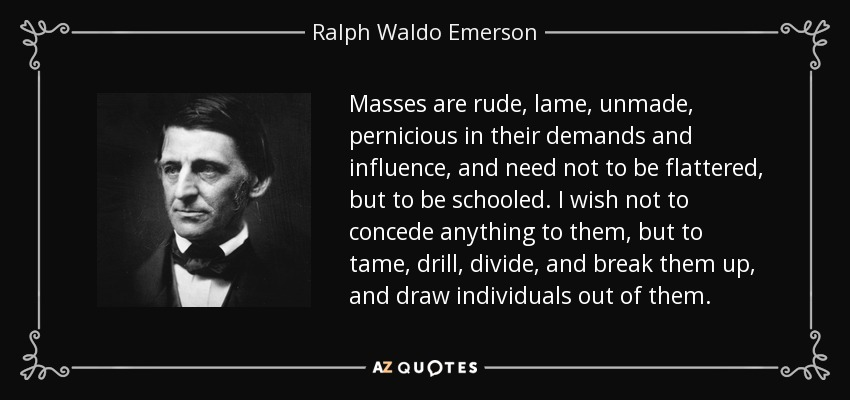 the influence in ralph waldo emersons nature of writing Enjoy the best ralph waldo emerson quotes at brainyquote quotations by ralph waldo emerson, american poet, born may 25, 1803 share with your friends.