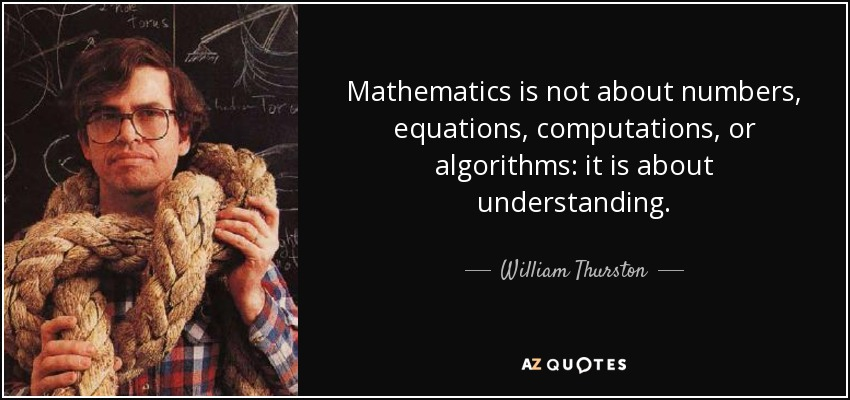 Top 12 Quotes By William Thurston A Z Quotes